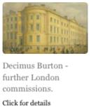 Decimus Burton - further London commissions