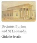 Decimus Burton and St Leonards